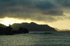 Le Digue (shanahands2) Tags: seychelles ladigue island rocks sea sunrise sky