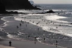 Dream like beach (Paolino Alberton) Tags: amado algarve portogallo portugal onirico dremlike spiaggia beach controluce backlight silhouettes paesaggio landscape mare sea seaside