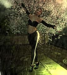 I Hope You Dance (riverboucher) Tags: sl secondlife valium maitreya catwa lona blueberry dance ballet moon rain