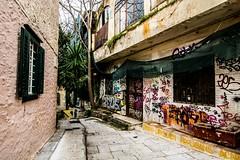 Dynamo Dresden Hooligans, Athens, Greece (Davide Tarozzi) Tags: dynamodresdenhooligans athens greece grecia atene graffiti strade streets αθήνα ελλάδα