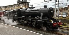 48151 at Carlisle 2-3-19 (lifeboat1721) Tags: 48151 8f mickrawling steamlocomotive westcoastrailways carlisle