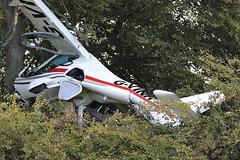 Fight Design CTSW G-VINH (Mark McEwan) Tags: flightdesign ctsw gvinh microlight aviation aircraft airplane dundee cairdpark aircrash crash tree airaccident