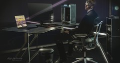 Intelligent Life (Kai Wirsing) Tags: kunst tmd mensdept decor tekno chair desk office