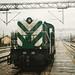 Big Green Locomotive