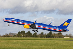 TF-ISX | Icelandair | Boeing B757-3E7(WL) | CN 30179 | Built 2000 | DUB/EIDW 17/02/2019 | ex 4X-BAW (Mick Planespotter) Tags: aircraft airport 2019 dublinairport collinstown nik sharpenerpro3 flight tfisx icelandair boeing b7573e7wl 30179 2000 dub eidw 17022019 4xbaw 100 years icelandic independence b757