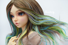 DSC_2047 (sonya_wig) Tags: fairytreewigs wig bjdwig minifeewig bjd bjdminifee minifeechloe handmadedoll bjddoll dollphoto fairyland fairylandminifee minifee chloe bjdphotographycoloringhair