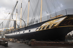 SS Great Britain, museum (Tom_bal) Tags: nikon d90 ss great britain museum bristol ship
