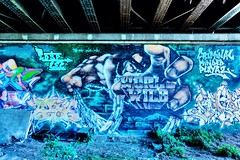 B01A9119 (laurentbw) Tags: toulouse tag grafitti urban art street azf 2019