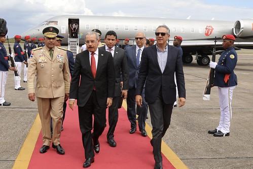 Danilo Medina resalta interés de Donald Trump en cooperar con el Caribe; destaca cordialidad y respeto gobierno estadounidense