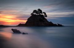 Cap Roig first light slow (Seral Mobar) Tags: fuji xt3 xf1024 mar sunrise sea ocean seascape albada costa brava catalunya catalonia rocks longexposure longshot exposure