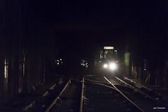 Charleroi (Jan Dreesen) Tags: hainaut henegouwen belgië belgique srwt tec charleroi tram mlc metro fantôme spookmetro abandoned ghost subway line station centenaire type sj 9175 vt
