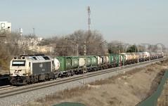 333.395 a Huelva (Mariano Alvaro) Tags: 333 395 renfe mercancias vicalvaro huelva butano fertiberia tren trenes