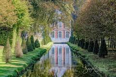 REFLECTION (Sonja Ooms) Tags: annevoie belgie belgique belgium garden jardins nature natuur reflection tuin
