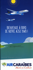 Air Caraibes - Bienvenue a Bord de notre A350 XWB! 2017_1, airlines brochure (World Travel library - The Collection) Tags: aircaraïbes aircaraibes 2017 illustration airbus a350 aircraft airplane plane flugzeug repülő repülőgép airlinesbrochurefrontcover frontcover brochure aviation travel library center worldtravellib papers prospekt catalogue katalog fluggesellschaften compagnie aérienne compagnia aerea légitársaság شركةطيران 航空会社 flug air airtransport transport holidays tourism trip vacation photos photo photography pictures images collectibles collectors collection sammlung recueil collezione assortimento colección ads online gallery galeria documents dokument broschyr esite catálogo folheto folleto брошюра broşür