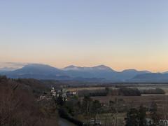(Paolo Cozzarizza) Tags: italia friuliveneziagiulia pordenone spilimbergo panorama alba cielo alberi strada