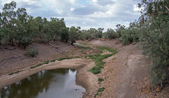 Downstream drying (OzzRod) Tags: pentax k1 hdpentaxda2040mmf284 river pollution drought waterhole darlingriver wilcannia outback westernnsw savethedarling