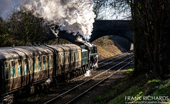 92214 | Charnwood | 3rd Feb '19 (Frank Richards Photography) Tags: british railways standard class 9f no92214 great central railway rail gcr february 3rd 2019 nikon d7100 uk england loughborough charnwood water mainline preserved green train dining the elizabethan 2100 freight br