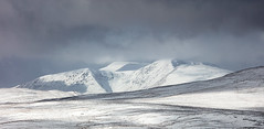 Mountain Range #1   smll (GOLDENORFE) Tags: lakes mountains snow panorama 5dsr