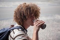 Yummy Chocolate Milk (l plater) Tags: afrohair chocolatemilk darlingstreet balmain sydney