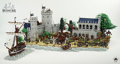 LEGO Middle Earth - Lond Daer (Barthezz Brick) Tags: lego lotr middle earth lord rings lond daer moc afol medieval barthezz barthezzbrick legos legocreator gollum lordoftherings middleearth fantasy tolkien wall city castle