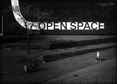 open.space (grizzleur) Tags: open space dark lowkey pov birdseye street streetphotography light shade shadow humanelement düsseldorf duesseldorf streetlife shootthestreet olympus olylove omd omdstreetphotography olympusomdem10mkii olympusm45mmf18