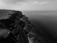Falaise (Meculda) Tags: drone france picture blackandwhite blackwhite noiretblanc noirblanc monochrome monochrom paysage landscape parrot anafi printemps spring vol