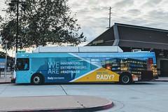 MTS Bus (So Cal Metro) Tags: bus metro transit mts sandiegotransit sandiego newflyer c40lf oldtown rt105 300 bus320 wrap ad advertising promotion marketing rady mba ucsd