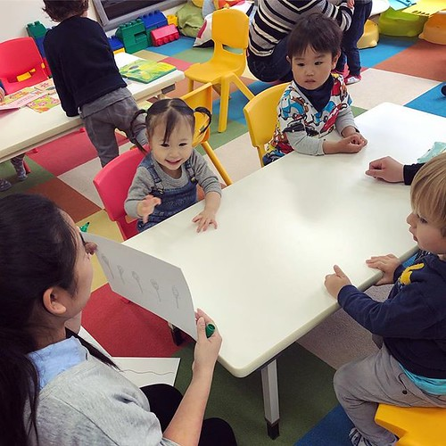 Stimulation and learning (especially up until the age of 2) is said to be vital for development. A strong foundation can be built with fun, communication and creativity. #toddlers #tokyo #daycare #learning #cutekids #international