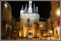 Porte Cailhau BORDEAUX (Les photos de LN) Tags: portecailhau portedupalais bordeaux portdelalune gironde aquitaine quais monument édifice pierre tours nuit lumière éclairage