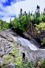 THE CHUTE, SILVER FALLS, MAGPIE RIVER near WAWA, ONTATIO, CANADA, ACA PHOTO (alexanderrmarkovic) Tags: thechute silverfalls magpierivernearwawa ontatio canada acaphoto