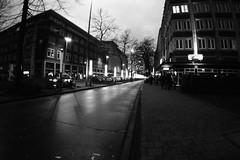 Sonntagsspaziergang (Markus Rödder (ZoomLab.de / FotoDinge)) Tags: spaziergang muenster blackwhite blackandwhite fisheye olympus omd kopfsteinpflaster love ms4l