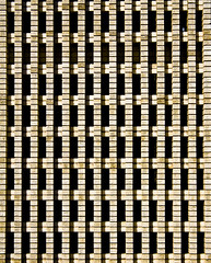 (jfre81) Tags: urban wall building brick minimalist black gaps shadow pattern facade texas city texascity tx galveston county 409