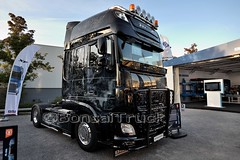 D - Michael Reiss DAF XF 106 SSC >The Dark Knight Rises< (BonsaiTruck) Tags: michael reiss daf xf 106 ssc airbrush iaa hannover dark knight rises batman lkw lastwagen lastzug truck trucks lorry lorries camion camiones caminhoes