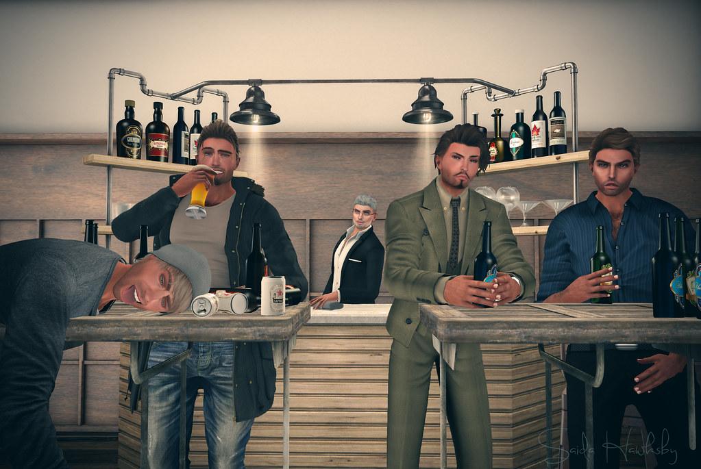 4 lascivious guys