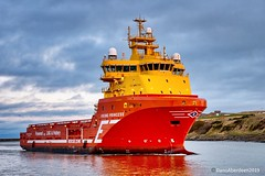 Viking Princess - Aberdeen Harbour Scotland - 12/01/2019 (DanoAberdeen) Tags: vikingprincess danoaberdeen 2019 candid amateur seaport maritime offshore workboats ship ships harbour seafarers bluesky water seascape clouds torry fittie footdee aberdeenscotland aberdeenharbour tug tugboats oil oilrigs psv abdn abz uk gb danophotography boats shipping atsea aberdeen grampian fairtradecity boat supplyships cargoships oilandgas northeast geotag tagged oilships sailor sealife shipspotting shipspotters scotch scotland marineoperationscentre pocraquay northeastscotland