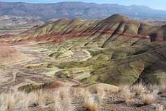 Painted Hills Perspective (Eclectic Jack) Tags: perspective hills painted oregon eastern central mountain landscape