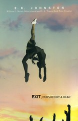 Exit, Pursued by a Bear (Vernon Barford School Library) Tags: ekjohnson johnson realisticfiction realistic fiction friendship bestfriends cheerleading cheerleaders cheering cheer cheerteam emotionalproblems highschools schools highschool school ontario canada canadian sexualassault assault socialisolation emotions feelings pregnancy violence youngadult youngadultfiction ya vernon barford library libraries new recent book books read reading reads junior high middle vernonbarford fictional novel novels hardcover hard cover hardcovers covers bookcover bookcovers 9781101994580