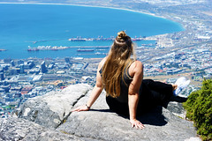 Taking in the view (Steven.Harrison) Tags: southafrica capetown tablemountain view people portrait city landscape landscapephotography dof photography adventure travel travelphotography tourist