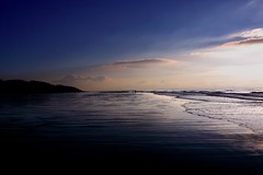 """""""Our mind is like a beach ... (The Renaissance) Tags: liverpool formby formbypoint beach sea mersey sunset"""