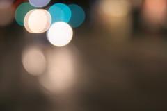 Pensieri sfuocati 2 -Blurred thoughts 2 (Lorenzo BC-1) Tags: colours colori sfuocato blurred blurry rosso verde blu red green blue abstract astratto canon luci lights bianco white azzurro strada street imagination immaginazione