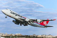 Cargolux Airlines International Boeing 747-467F(SCD)  |  LX-GCL  |  LMML (Melvin Debono) Tags: cargolux airlines international boeing 747467fscd | lxgcl lmml cargo freighter resprayed aviation cosmetics malta cn 34150 acm melvin debono spotting canon eos 5d mark iv 100400mm plane planes photography airport airplane aircraft mla