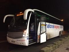 BF63ZRO (nevetsyam1404) Tags: b9r volvo halifax stagecoach stagecoachyorkshire caetano levante nationalexpress 53732 bf63zro