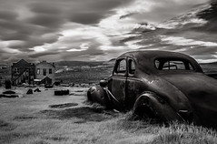 (Rodney Harvey) Tags: bodie california ghost town infrared coup old car rural decay spooky