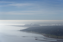Felixstowe in the mist - Suffolk aerial (John D Fielding) Tags: felixstowe mist suffolk coast coastline port harbour town winter above aerial nikon d810 hires highresolution hirez highdefinition hidef britainfromtheair britainfromabove skyview aerialimage aerialphotography aerialimagesuk aerialview drone viewfromplane aerialengland britain johnfieldingaerialimages fullformat johnfieldingaerialimage johnfielding fromtheair fromthesky flyingover fullframe
