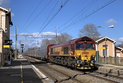 Class 66032 et fret (SylvainBouard) Tags: regiorail class66 railway train