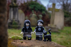 You can find love in a cemetery (Ballou34) Tags: 2019 7dmark2 7dmarkii 7d2 7dii afol ballou34 canon canon7dmarkii canon7dii eos eos7dmarkii eos7d2 eos7dii flickr lego legographer legography minifigures photography stuckinplastic toy toyphotography toys stuck in plastic love graveyard grave grass cat