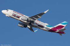 D-AEWS 1502iv copy (Baz Aviation Photo's) Tags: daews airbus a320214 eurowings ewg ew heathrow egll lhr 27l ew7463 avis livery