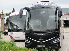 """2018 031002 SCANIA IRIZAR COACH PGS TRAVEL GROUP MADRID 46 6132 KFP IN FRIGLIANA (Andrew Reynolds transport view) Tags: europe spain andalucia transport bus coach transit passenger omnibus diesel """"mass transit"""" 2018 031002 scania irizar pgs travel group madrid 46 6132 kfp in frigliana"""