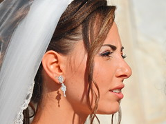 The contemplative bride (Couldn't Call It Unexpected) Tags: bride wedding sicily cefalu