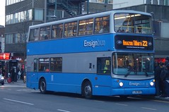Old-timer: Ensignbus (ex Arriva London VLA89) Volvo B7TL/Alexander ALX400 LJ54BDO (109) Barking Station 23/02/19 (TheStanstedTrainspotter) Tags: essex london eastlondon bus buses transport public publictransport ensignbus ensign tilbury amazon amazontilbury z2 barking canningtown rainham volvo b7tl volvob7tl alexander alx400 alexanderalx400 lj54bdo109 barkingstation arriva arrivalondon vla89